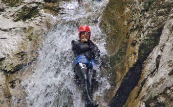 Canyoning Soca River