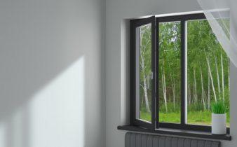 Aluminijasta okna so izjemno elegantna