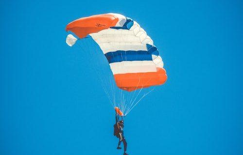 Tandemski skok s padalom za pogumne