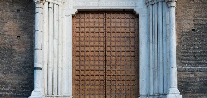 Blokovska vhodna vrata